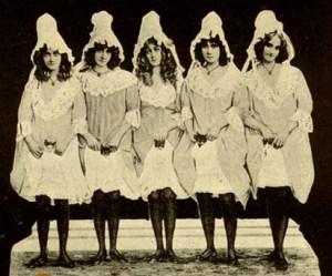 The Barrison sisters - vaudeville stars